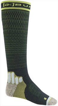 Burton Adult Unisex [ak] Ultralight Compression Snowboard/Ski Socks, S Dark Slate