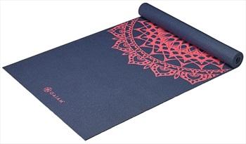 Gaiam Classic Printed Yoga/Pilates Mat, 4mm Pink Marrakesh