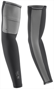 Mountain Hardwear WayCool UPF 50 Sun Protection Arm Sleeves, M Shark