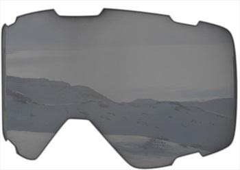 Melon Parker Ski/Snowboard Goggle Lens, One Size Silver Chrome