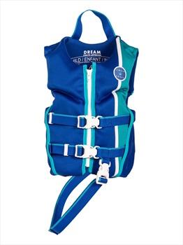 Liquid Force Dream CGA Kids Buoyancy Vest, Child Navy Aqua 2021