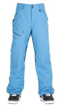 Bonfire Surface Textured Ski/Snowboard Pants, M Blue