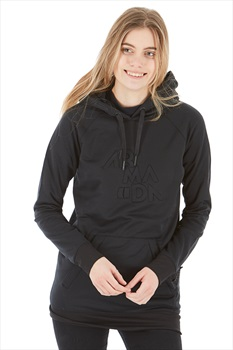 Armada Parker Womens Pullover Tech Hoodie, S Black