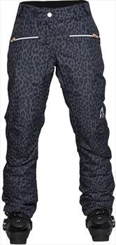 Wearcolour Cork Women's Ski/Snowboard Pants, XS Black Leo