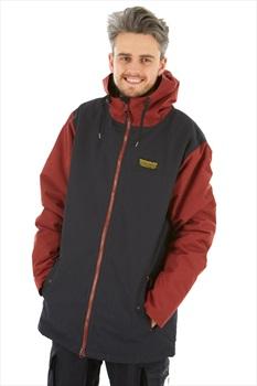 Airblaster Toaster Ski/Snowboard Jacket, M Black Oxblood