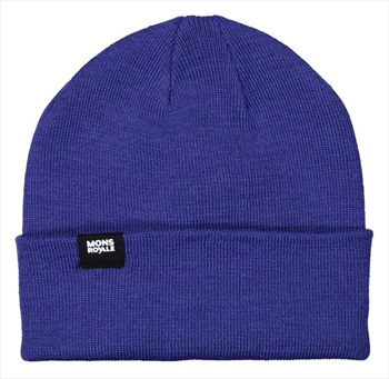 Mons Royale McCloud Merino Wool Beanie Hat, One Size Ultra Blue