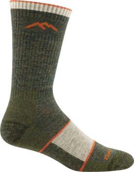 Darn Tough Adult Unisex Hiker Boot Full Cushion Hiking Socks, Xl Olive