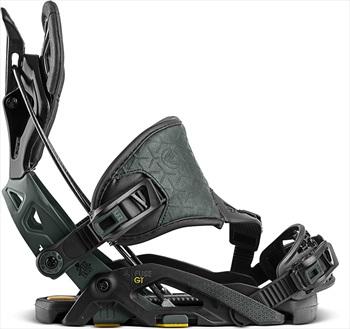 Flow Fuse Gt Hybrid Step In Snowboard Bindings, L Black 2021