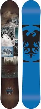 Never Summer Chairman Rocker Camber Snowboard, X 161cm Wide 2020