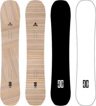 DC EMB Positive Camber Snowboard, 158cm Wide 2022