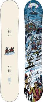 DC PBJ Positive Camber Snowboard, 153cm 2022