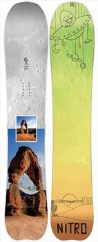 Nitro Mountain X Grif Positive Camber Snowboard, 157cm 2020