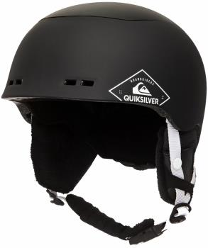 Quiksilver Lennix Snowboard/Ski Helmet, S/M Black