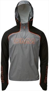 OMM KamLite Smock Waterproof Shell Jacket, XS Black/Grey