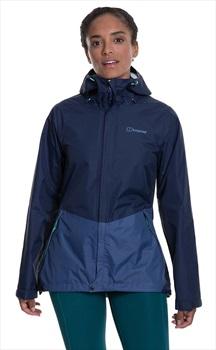 Berghaus Deluge Vented Women's Waterproof Jacket, UK 14 Dusk/Indigo