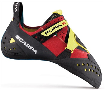 Scarpa Furia S Rock Climbing Shoe, UK 8 | EU 42 Parrot Yellow