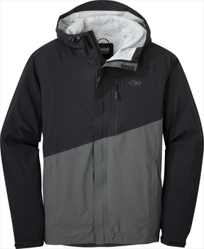 Outdoor Research Panorama Point Waterproof Jacket, S Black/Charcoal