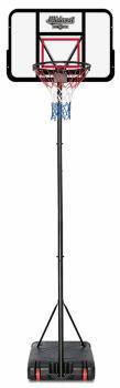 Midwest Pro Adjustable Basketball Stand, 8ft/9ft/10ft Black