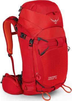 Osprey Kamber 42 S/M Ski/Snowboard Backpack, 40L Ripcord Red