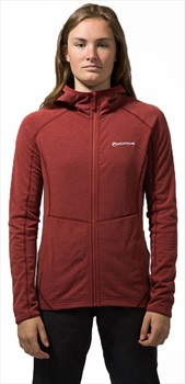 Montane Viper Women's Hiking/Climbing Fleece, L / UK 14 Redwood