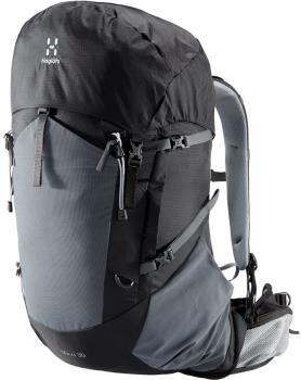 Haglofs Vina 30 Backpack Hiking/Trekking Rucksack, S/M Black/Magnetite