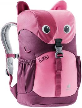 Deuter Kikki Kid's School Backpack Ages 5-8, 8L Hot Pink/Maron