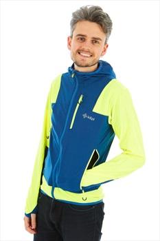 Kilpi Adult Unisex Joshua Softshell Jacket, S Yellow/Blue