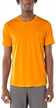 Icebreaker Cool-Lite Sphere Short Sleeve, M Sun Heather