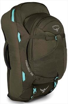 Osprey Fairview 55 Womens WS/WM Travel Backpack, 55L Misty Green