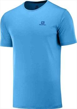 Salomon Men's Agile Training Tee SS Running T-shirt XL Vivid Blue