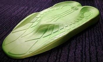 O'Brien Sozo Kneeboard Pad Kit, Green