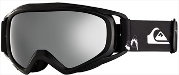 Quiksilver Eagle 2.0 Kids Ski/Snowboard Goggles, Black Snow Party