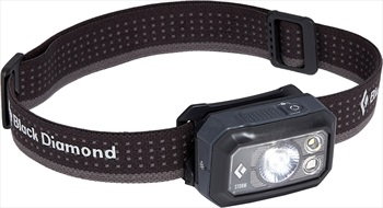 Black Diamond Storm 400 IPX67 LED Headlamp, 400 Lumens Graphite