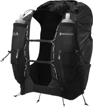 Montane Gecko VP 20+ Trail Running Vest Pack, L Black