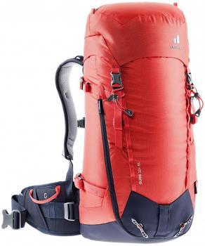 Deuter Guide 32+ SL Women's Alpine Climbing Backpack, 32L Chili/Navy