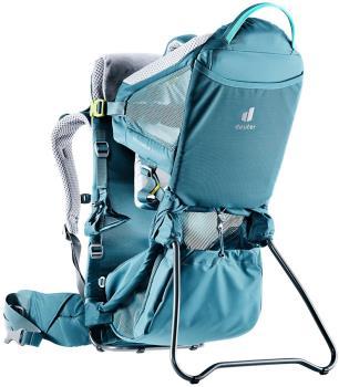 Deuter Kid Comfort Active SL Child Carrier Backpack, Adjustable Denim