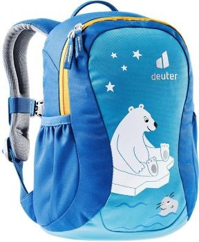 Deuter Pico Children's School Backpack Ages 2+, 5L Azure/Lapis