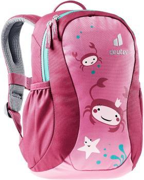 Deuter Pico Children's School Backpack Ages 2+, 5L Hot Pink/Ruby