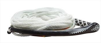 Hyperlite APEX Wakeboard Handle Rope, 65ft White