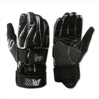 HO Sports Empire Waterski Gloves, S Black White
