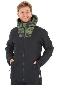 Wearcolour Block Ski/Snowboard Jacket XL Black Camo