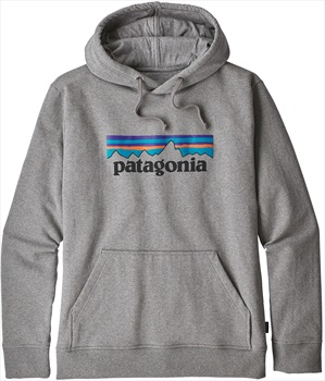 Patagonia P-6 Logo Uprisal Hoody, L Gravel Heather