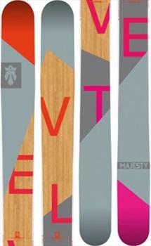Majesty Velvet Women's Skis 170cm Wood/Pink/Grey Ski Only 2018