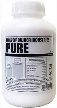 Tokyo Powder Bottle Pure Fine Rock Climbing Chalk, 200g White