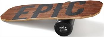 EPIC Balance Boards Wood Series Balance Board/Trainer, Dark Oak