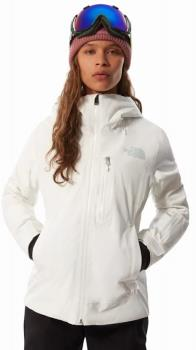 The North Face Women's Descendit Ski/Snowboard Jacket M TNF White