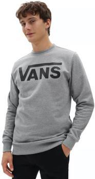 Vans Classic Crew II Men's Pullover Sweater, M Cement Heather/Black