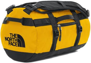 The North Face Base Camp Xs Duffel Travel Bag, 33l Summit Gold/Tnf Black