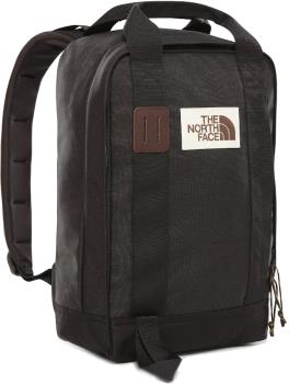 The North Face Tote Commuter Backpack/Day Pack, 14.5L Black Heather