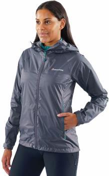 Montane Womens Meteor Women's Waterproof Hiking Jacket, Uk 14 Slate Grey